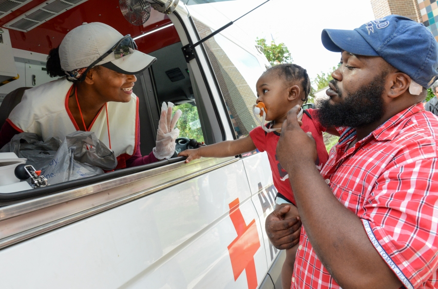 Red Cross Helps Short- and Long-Term Disaster Recovery