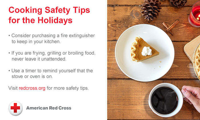 Thanksgiving Safety Tips From the Red Cross