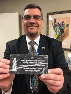 Craig w Adj Gen Award